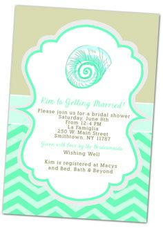Wedding Invitation Templates | Hearts on the Beach Wedding ...