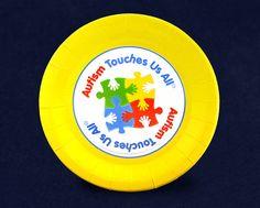 Autism Awareness Dessert Plates (PPLATE-2ATS)