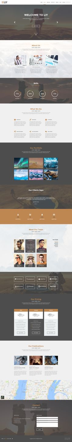 LIY - One Page PSD Template • Download ➝ https://themeforest.net/item/liy-one-page-psd-template/17849449?ref=pxcr