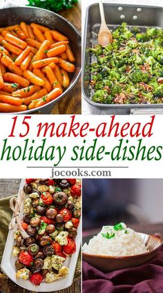 15 Make-Ahead Holiday Side Dishes