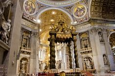 St. Peter's Basilica // Vatican, Italy