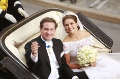 Wedding of Princess Madeleine of Sweden and Christopher O'Neill hosted by King Carl Gustaf and Queen Silvia at The Grand Hotel on June 7, 2013 in Stockholm, Sweden.