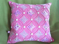 Cathedral Windows Patchwork Cathedral Window Patchwork, Cathedral Windows, Throw Pillows, Cushions, Decor Pillows, Pillows, Decorative Pillows