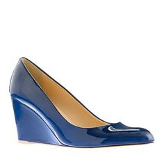 The black are my new go-to shoes...now I desperately want a pair in this new hot blue!