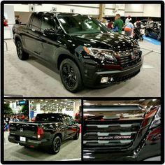 Dallas Auto Show. Honda Ridgeline, Honda Crv, Black Edition, Four Wheel Drive, Pickup Trucks, Subaru, Nissan, 4x4, Automobile