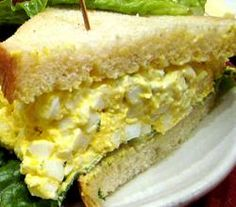 Easy Egg Salad Sandwich