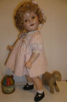 Shirley Temple Doll Composition Ideal First by suburbantreasure, $135.00