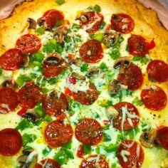 Keto pizza!!!
