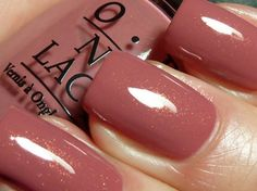 OPI's Gouda Gouda Two Shoes from the Holland Collection.  Looks like such a nice pinky rose color.