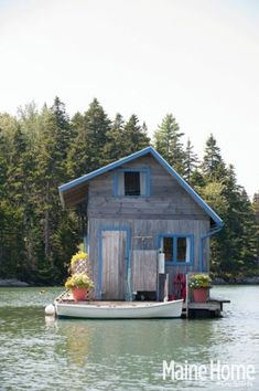 In Maine Home+Design Magazine's August issue, they explore a floating off-the-grid cabin in North Haven. http://bit.ly/1m2cRu8