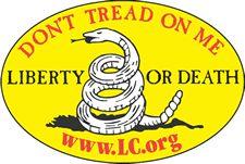 Free Don't Tread on Me sticker