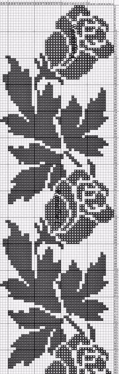 New Crochet Stitches Mesh Ideas Wedding Cross Stitch Patterns, Cross Stitch Borders, Cross Stitch Flowers, Cross Stitch Designs, Cross Stitching, Crochet Bedspread Pattern, Crochet Curtains, Crochet Tablecloth, Filet Crochet Charts