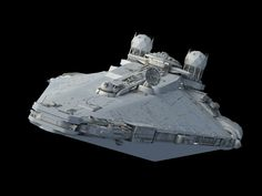 Fulgor-class pursuit frigate WIP#2 – Fractalsponge.net Nave Star Wars, Star Wars Spaceships, Star Wars Facts, Star Wars Vehicles, Spaceship Design, Sci Fi Ships, Concept Ships, Star Wars Ships, Found Object Art