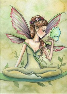Molly Harrison Fairy and Butterfly
