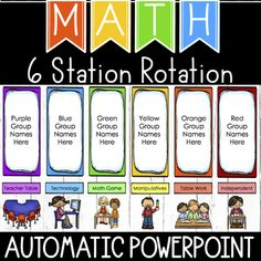 19 Awesome Center Rotation Chart Smartboard