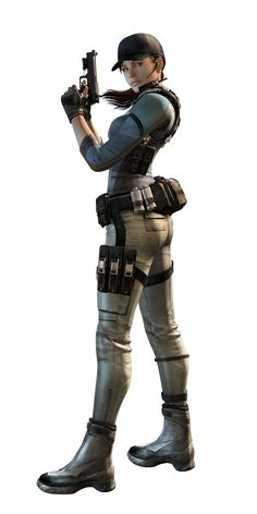 Jill Valentine, Resident Evil. Was definitely fun playing as her in Resident Evil 5.