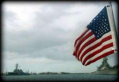American Flag Ships Photography