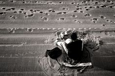 """""""Todo quisiera ser, indefinido,   en torno a ti: paisaje, luz, ambiente, gaviota, cielo, nave, vela, viento…  Caracola que acercas a tu oído,   para poder reunir, tímidamente,   con el rumor del mar, mi sentimiento.""""(Ángel González)"""