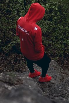 Photography Discover Red Hoodie by Admirable Hoodie Outfit Red Hoodie Mode Streetwear Streetwear Fashion Fashion Mode Urban Fashion Swag Style Red Shoes Outfit Swag Boys Fashion Mode, Urban Fashion, Mens Fashion, Swag Style, Mode Streetwear, Streetwear Fashion, Men Street, Street Wear, Red Shoes Outfit