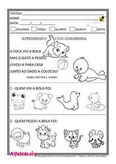 Portuguese Lessons, Learn Portuguese, Portfolio Covers, Professor, Teaching Kids, Kindergarten, Homeschool, How To Plan, Education