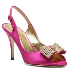 Tuesday Shoesday: Fuchsia with Sparkle | Modernly Wed