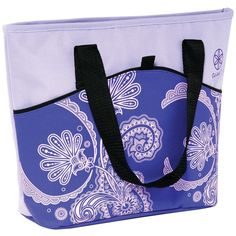 Gaiam Picnic Tote (purple Paisley) #mycustommade