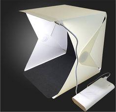 Foldable Lightbox Photo Studio Photography Backdrop Portable Light Room Mini Photo Studio Photography Box Lighting Tent Kit