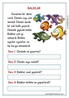 Untitled – My Pins Page Turkish Lessons, Grammar Tips, Learn Turkish, Turkish Language, 1st Grade Worksheets, Learn A New Language, Reading Passages, Preschool Printables, Stories For Kids