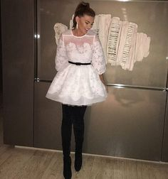 #ramonfilip pin by #TheItalianGlam Ramona Filip, Harajuku, Flower Girl Dresses, Wedding Dresses, Instagram Posts, Fashion, Bride Dresses, Moda, Bridal Gowns