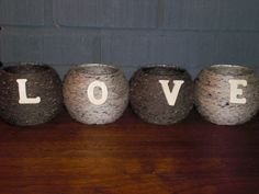 Rustic candle holders that will fit your own unique style.  Great gift ideas and perfect for weddings and parties! on Etsy, $25.00