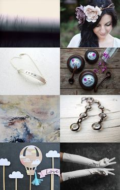 Dusk by The Canadian Collective on Etsy--Pinned with TreasuryPin.com #etsy #etsyCA #handmade #valentinesday #valentines Dusk, Washer Necklace, Valentines Day, Collections, Handmade, Jewelry, Valentine's Day Diy, Hand Made, Jewlery