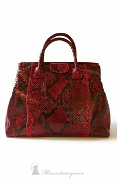 Carlos Falchi 1325-p Handbag - MissesDressy.com | http://www.missesdressy.com/1325-python-embossed-leather-carlos-falchi-p-25762.html#