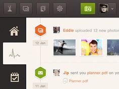 Activity ui interface web