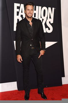 Luke Bryan - Fashion Rocks 2014