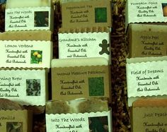 all-natural handcrafted soaps