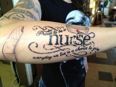 Unique Nursing Tattoo