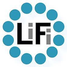 Light Fidelity (Li-Fi) official  icon logo. By aCreative Studios