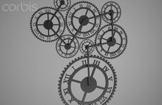 The toothed wheel clock