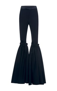 Rockface Wide Flare Pant With Overlay by ELLERY for Preorder on Moda Operandi