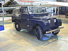 RAF Museum, Cosford - Land Rover 1 Series