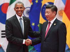 Estados Unidos e China ratificaram o acordo climático de Paris e instaram que outros países façam o mesmo (Foto: Greg Baker/AFP)