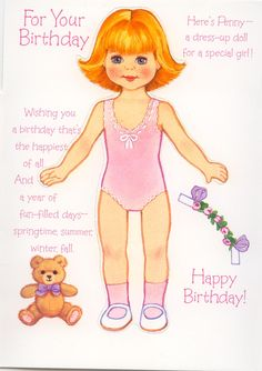 For Your Birthday -Here's Penny - 2012  - Doll