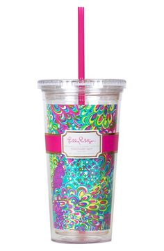 Lilly+Pulitzer®+Travel+Tumbler+available+at+#Nordstrom