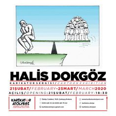 The post Halis Dokgöz Cartoon Exhibition, Ankara, Turkey first appeared on Toons Mag and is written by Halis Dokgöz. Cartoon News, Cartoon Books, Do You Like It, Equal Rights, Caricature, Ankara, The Darkest, Turkey, Writing