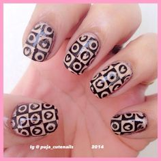 Hearts and dots using pueen 68