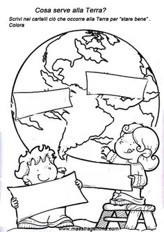Kids English, Learning Italian, Dramione, Reading Material, Earth Day, Science, Education, Educational Activities, Environment