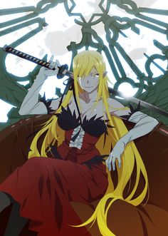 "Crunchyroll - Visual For Third ""Kizumonogatari"" Anime Movie Published - Plus Anime Character Designer Attached To New Light Novel"