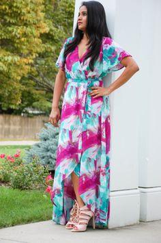 maxi dresses, fall fashion, petite fashion, petite maxis, colorful dresses, wedding guest, summer wedding, fall wedding , holiday party dress, indian blogger, fashion blogger, boston