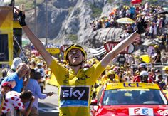 Hij kwam al als beste uit de eerste Tourweek, maar in de tiende rit laat Chris Froome pas zien hóé goed hij deze ronde is. Op weg naar La Pierre-Saint-Martin rijdt de Brit - met hulp van Richie Porte - alle concurrenten uit het wiel. Naaste bedreiger Nairo Quintana wordt derde, op meer dan een minuut.