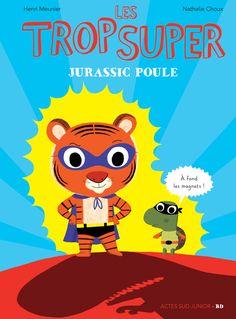 Une nouvelle série de petits albums en bande dessinée, mêlant aventure, humour et sensibilité à l'environnement. Super Tigre et Tortue Flash sont des super-héros.